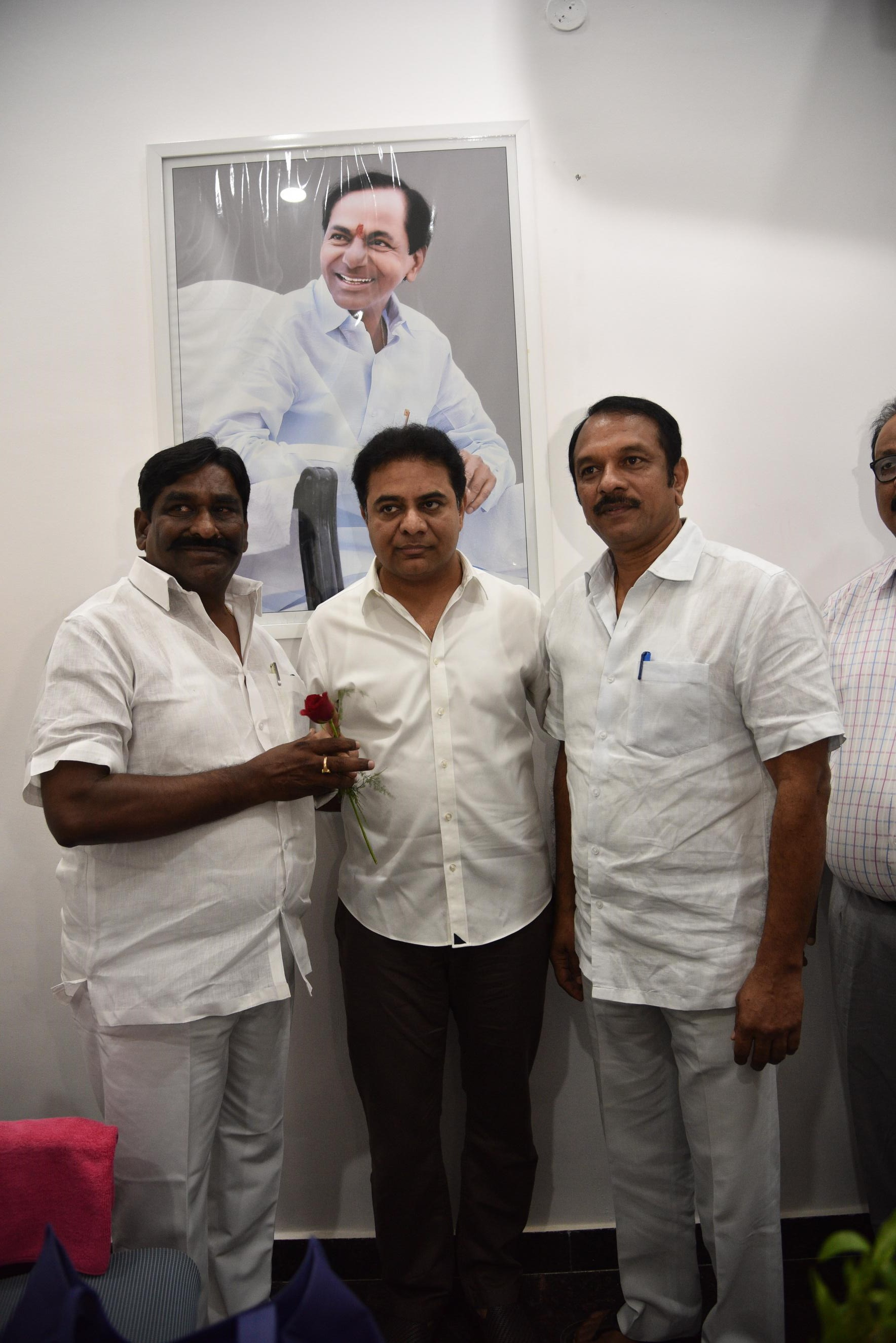 10. New Year Greetings to TRS Working President Sri KTR