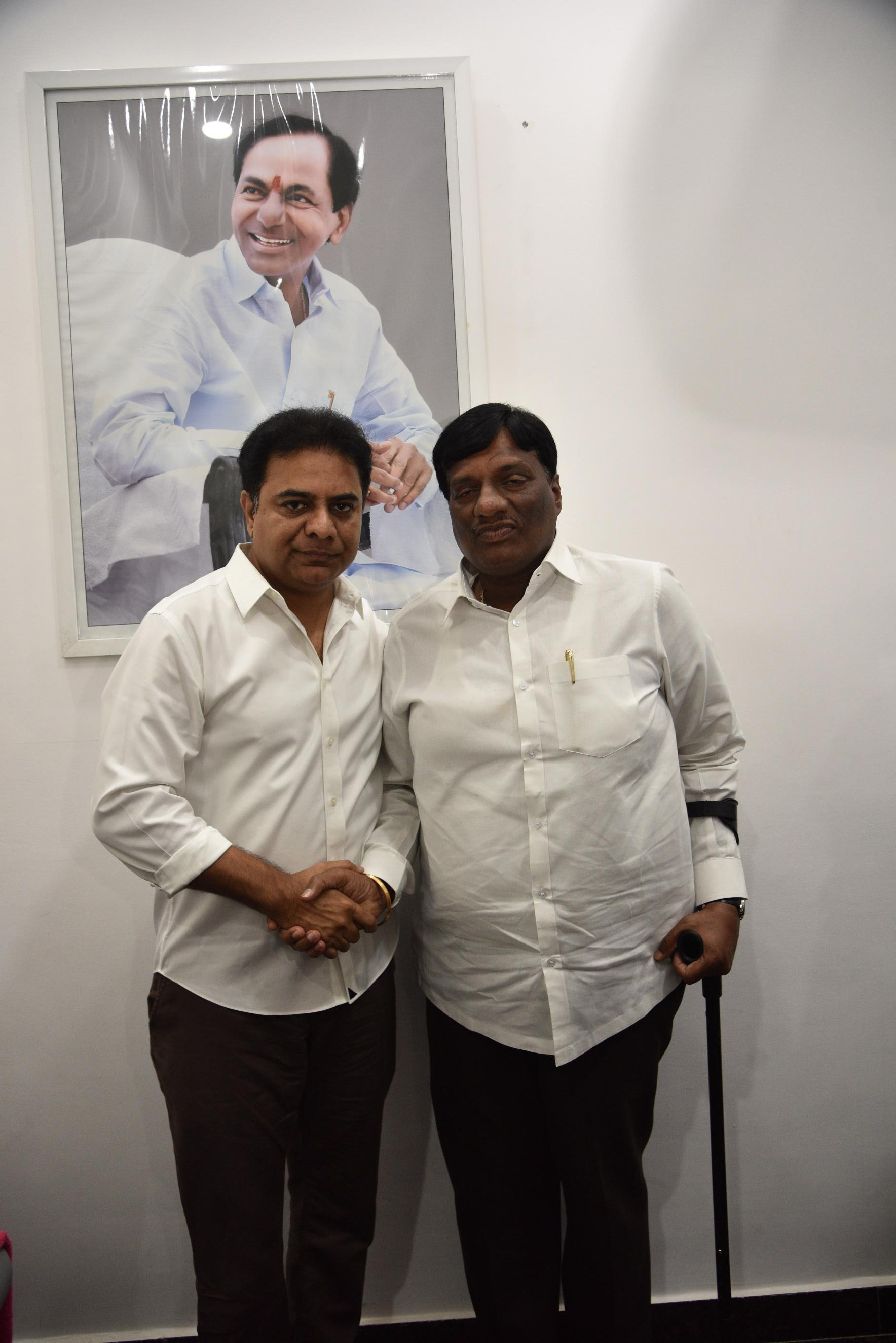 11. New Year Greetings to TRS Working President Sri KTR