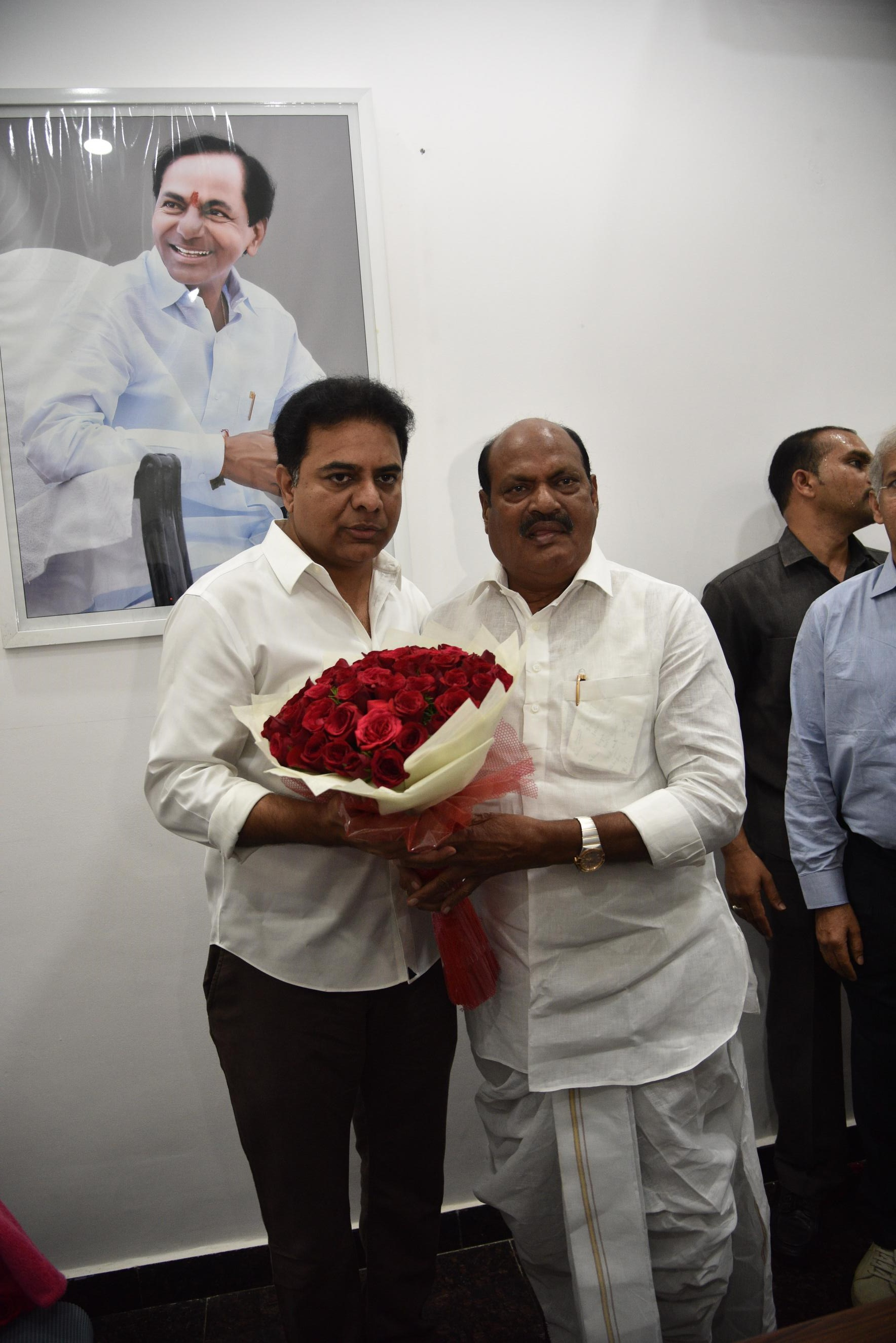 11. New Year Greetings to TRS Working President Sri KTR 2