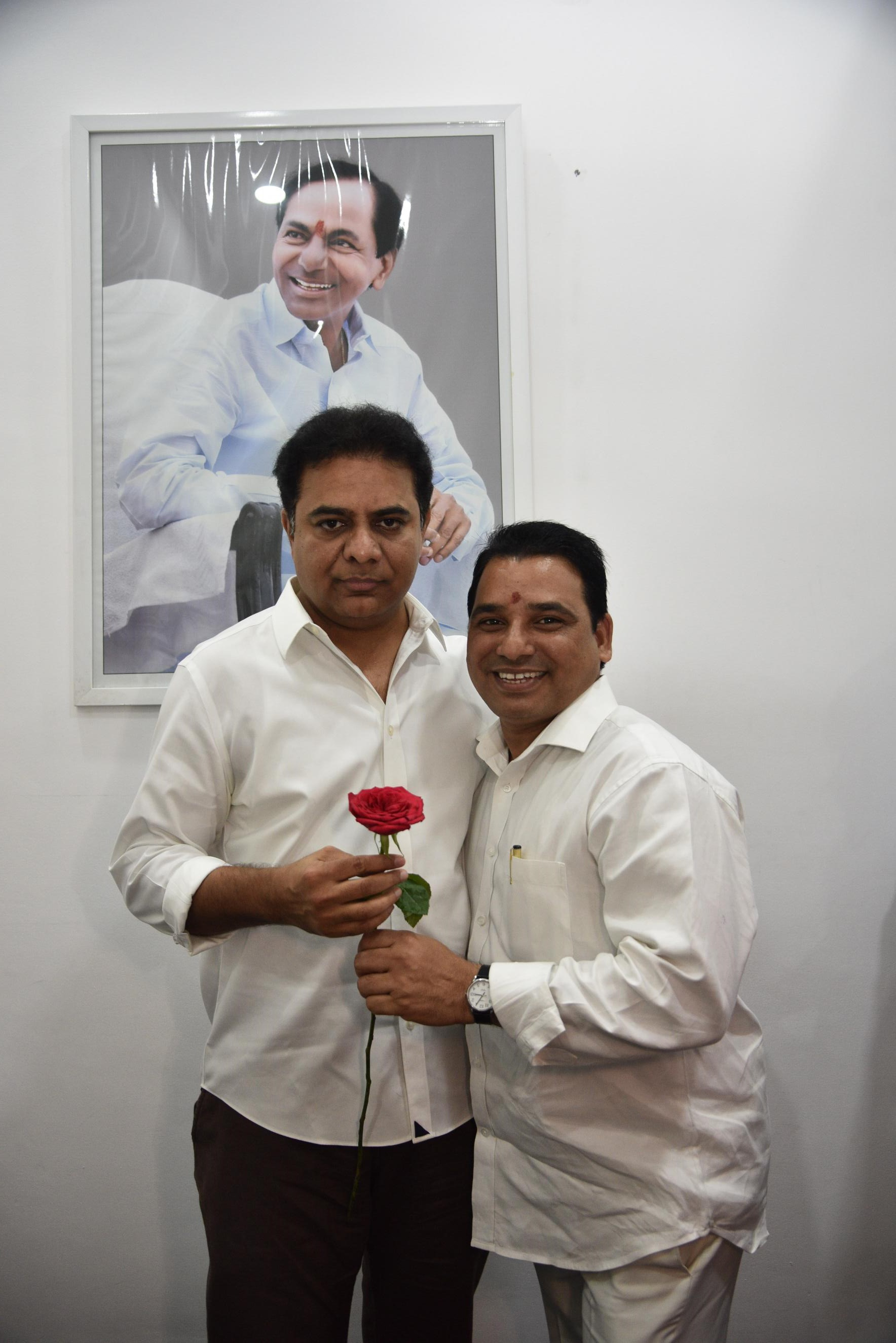 16. New Year Greetings to TRS Working President Sri KTR