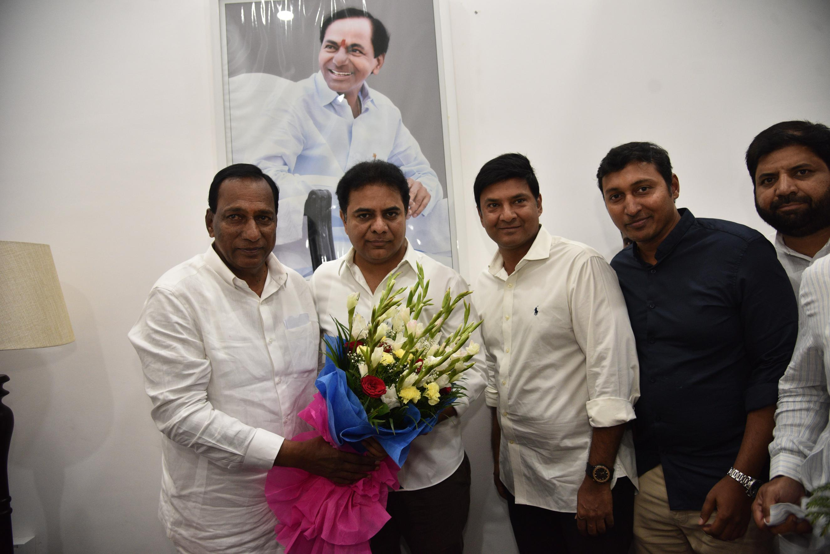 5. New Year Greetings to TRS Working President Sri KTR