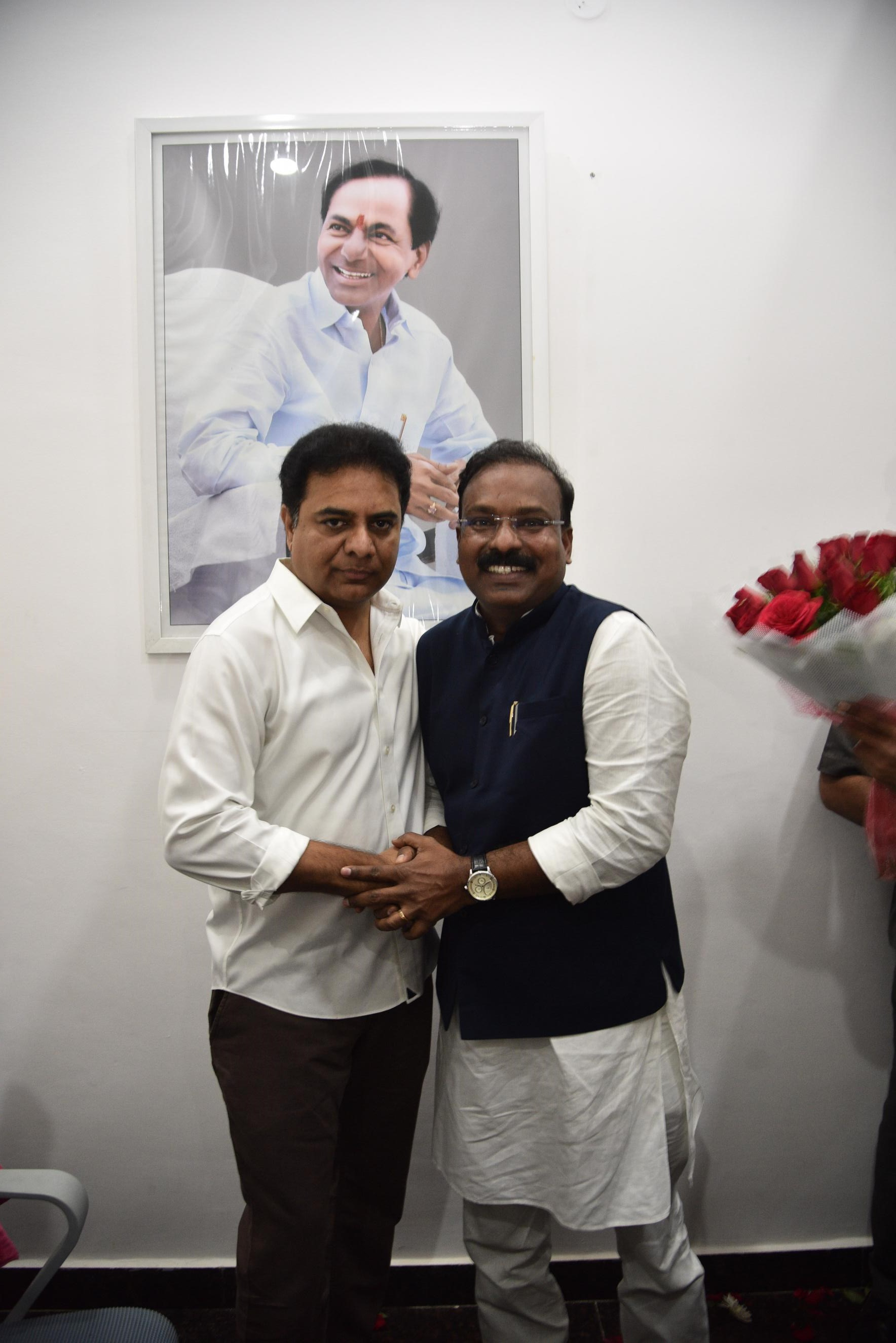 8.New Year Greetings to TRS Working President Sri KTR