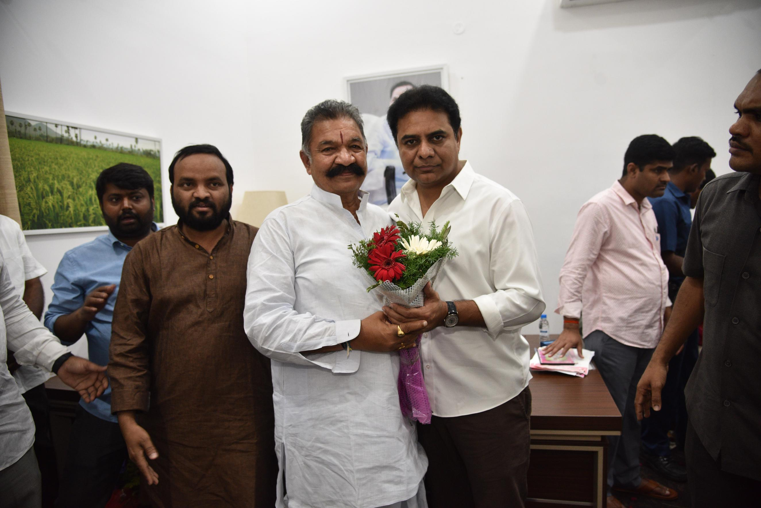 9. New Year Greetings to TRS Working President Sri KTR